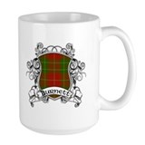 Burnett Tartan Shield Mug