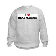 I Love REAL MADRID Sweatshirt