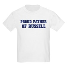 Proud Father of Russell T-Shirt