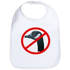 No To Canadian Geese Bib