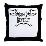 King Beverly Throw Pillow