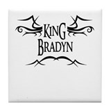 King Bradyn Tile Coaster