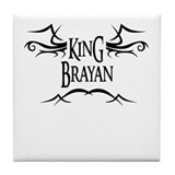 King Brayan Tile Coaster