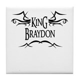 King Braydon Tile Coaster