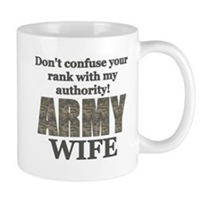 Army Wife (Rank & Authority) Mug