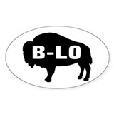 B-LO Oval Decal