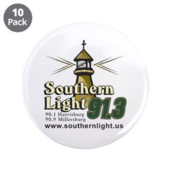 Southern Light 3.5&quot; Button (10 pack)