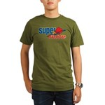 SuperMom Organic Men's T-Shirt (dark)