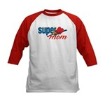 SuperMom Kids Baseball Jersey