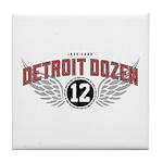 The Detroit Dozen Tile Coaster