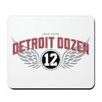 The Detroit Dozen Mousepad