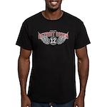 The Detroit Dozen Men's Fitted T-Shirt (dark)