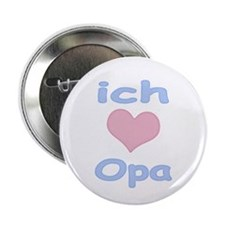 "I Heart Grandpa German 2.25"" Button"