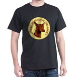 pharaoh hound addict Black T-Shirt