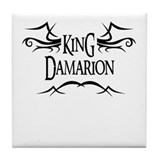 King Damarion Tile Coaster