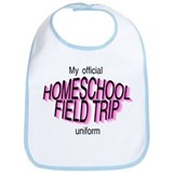 Field Trip Uniform in Pink Bib
