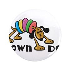 "Down Dog 3.5"" Button (100 pack)"