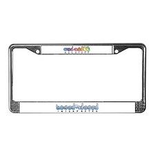 Interpreter Blue License Plate Frame