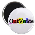 "OutVoice 2.25"" Magnet (100 pack)"