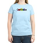 OutVoice Women's Pink T-Shirt