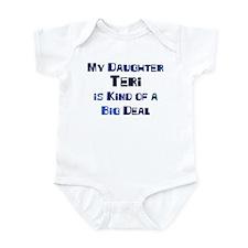 My Daughter Teri Infant Bodysuit