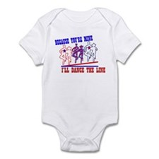 DANCE THE LINE Infant Bodysuit
