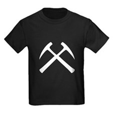 Crossed Rock Hammers T