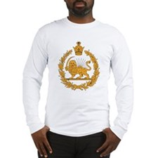 Persia Coat Of Arms Long Sleeve T-Shirt
