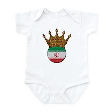 King Of Iran Infant Bodysuit