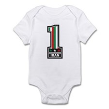 Number One Iran Infant Bodysuit