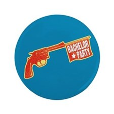 "Joke Bachelor Gun 3.5"" Button (100 pack)"