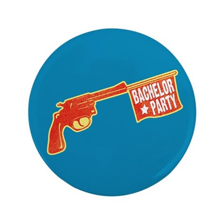"Joke Bachelor Gun 3.5"" Button"
