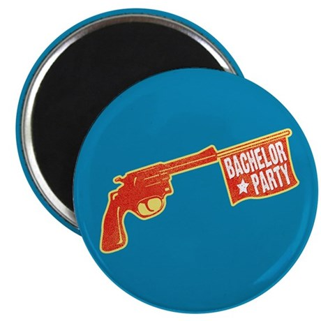 "Joke Bachelor Gun 2.25"" Magnet (100 pack)"