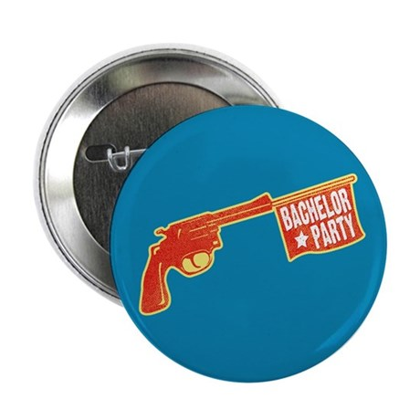 "Joke Bachelor Gun 2.25"" Button (100 pack)"