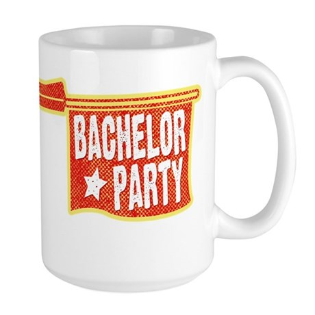 Joke Bachelor Gun Large Mug