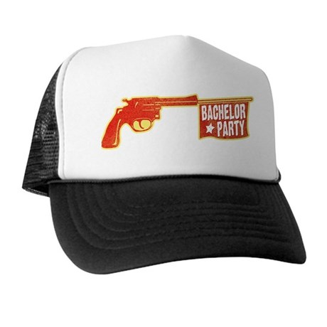 Joke Bachelor Gun Trucker Hat