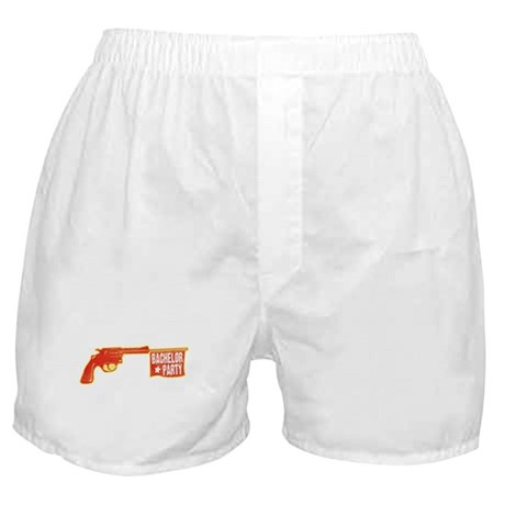 Joke Bachelor Gun Boxer Shorts