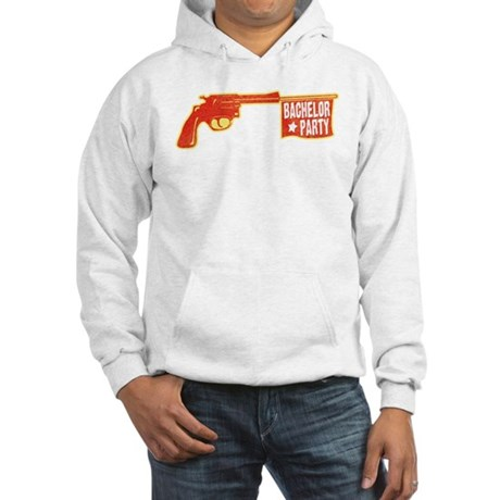 Joke Bachelor Gun Hooded Sweatshirt