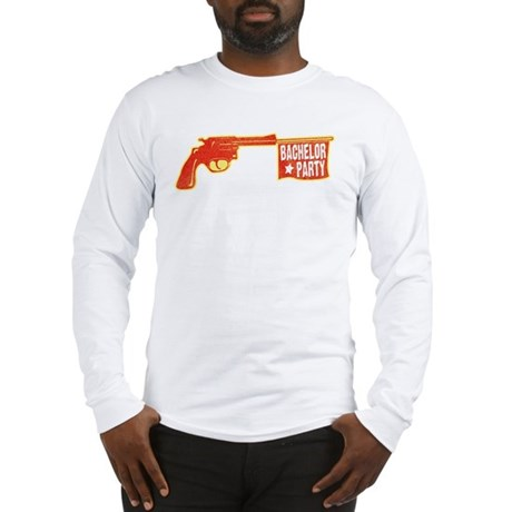 Joke Bachelor Gun Long Sleeve T-Shirt