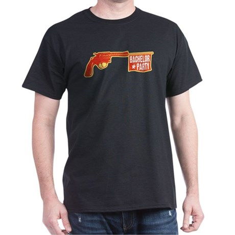 Joke Bachelor Gun Dark T-Shirt