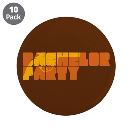 "Mafia Bachelor Party 3.5"" Button (10 pack)"