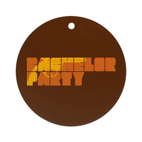 Mafia Bachelor Party Ornament (Round)