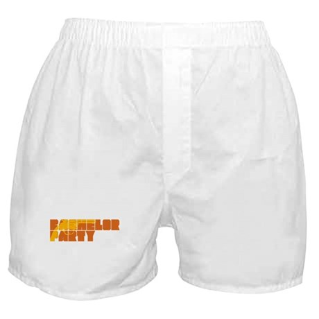Mafia Bachelor Party Boxer Shorts