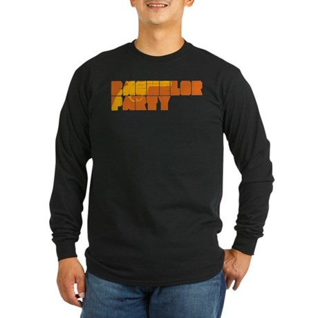 Mafia Bachelor Party Long Sleeve Dark T-Shirt