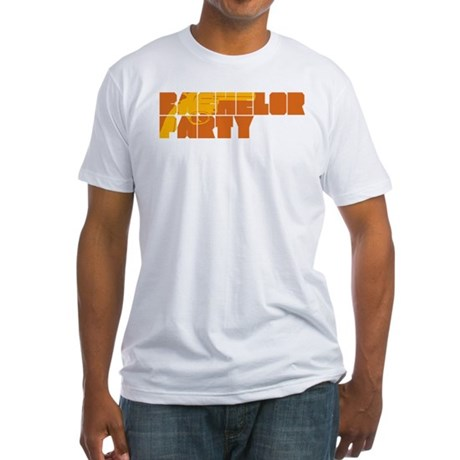 Mafia Bachelor Party Fitted T-Shirt