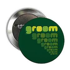 """Green Groom Blox 2.25"""" Button"""