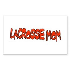 LAX MOM Rectangle Decal