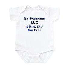My Daughter Luz Infant Bodysuit