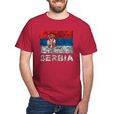 Vintage Serbia T-Shirt