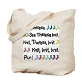 See Theresa Knit Tote Bag